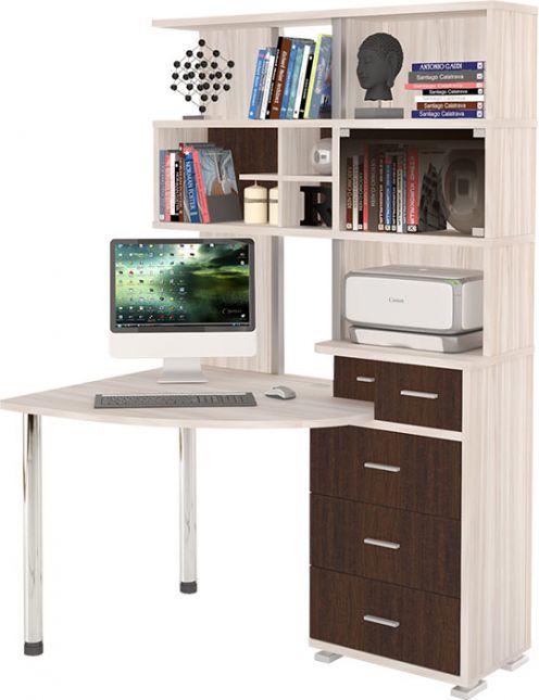 компьютерный стол угловой с надстройкой ср 320 купить в интернет